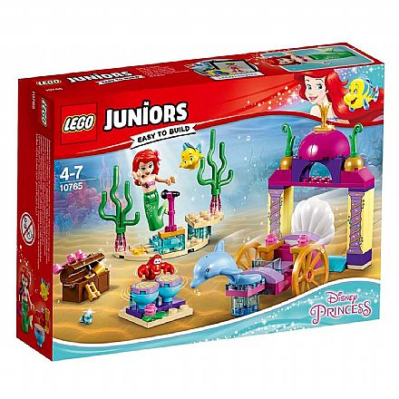 LEGO Juniors Princesas Disney - O Concerto Subaquático da Ariel - 10765