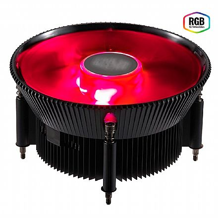 Cooler para Intel - Soquete 1150 / 1151 / 1155 / 1156 - Cooler Master i71C - com LED RGB - RR-I71C-20PC-R1