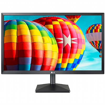 "Monitor 23.8"" LG 24MK430H - IPS Full HD - 5ms - Suporte VESA - FreeSync - HDMI/VGA"
