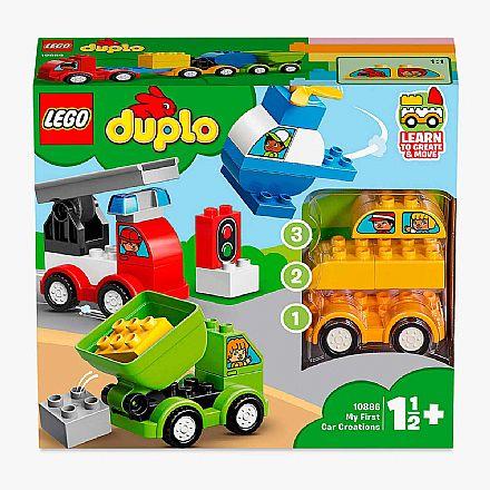 LEGO Duplo - Minhas Primeiras Criações de Carros - 10886