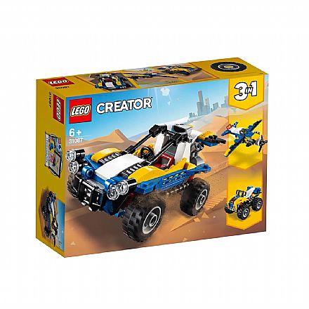 LEGO Creator - Modelo 3 em 1: Passeio nas Dunas - 31087