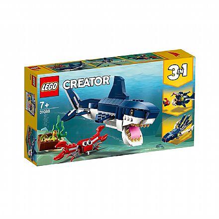 LEGO Creator - Modelo 3 em 1: Criaturas do Fundo do Mar - 31088