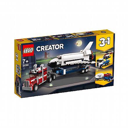 LEGO Creator - Modelo 3 em 1: Veículo Transportador - 31091