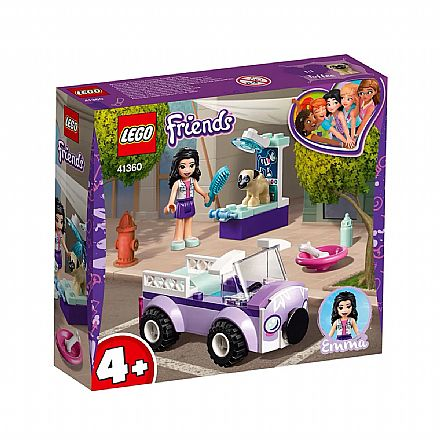 LEGO Friends - Clínica Veterinária Móvel da Emma - 41360