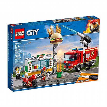 LEGO City - Resgate na Hamburgueria - 60214