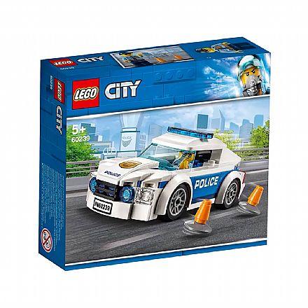 LEGO City - Carro Patrulha da Polícia - 60239