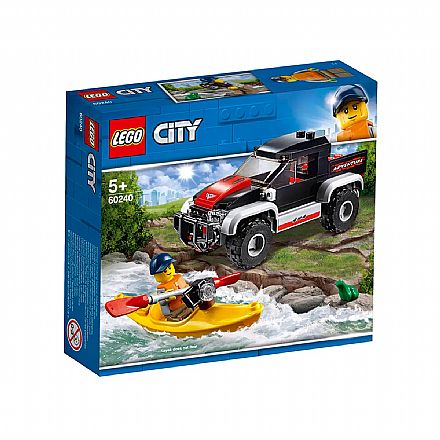 LEGO City - Transportando o Caiaque - 60240
