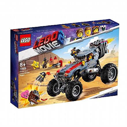 LEGO The Movie - O Buggy de Fuga de Emmet e Lucy - 70829