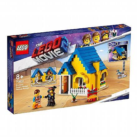 LEGO The Movie - 2 em 1: Casa dos Sonhos e Foguete - 70831