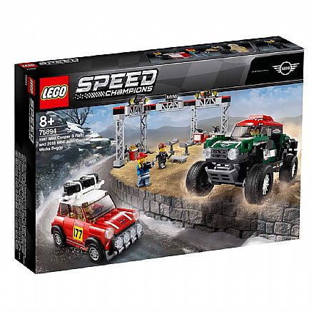 LEGO Speed Champions - 1967 Mini Cooper S Rally e 2018 MINI John Cooper Works Buggy - 75894