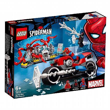 LEGO Marvel Super Heroes - A Moto do Homem-Aranha - 76113