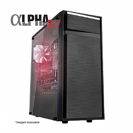 PC Gamer Bits Alpha 3.1 Powered by ASUS - Intel® i5 9400F, 8GB, HD 500GB, Geforce GTX 1650 4GB