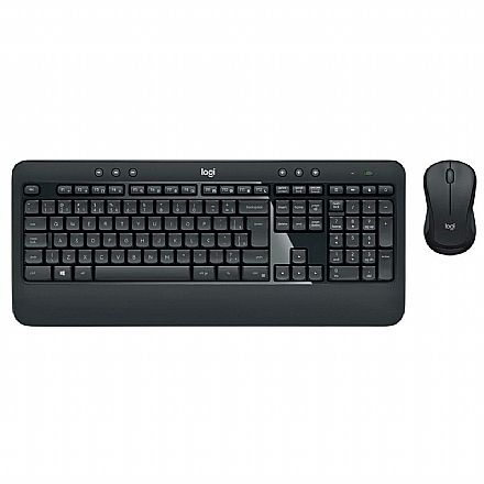 Kit Teclado e Mouse sem Fio Logitech MK540 Advanced - Tecnologia Unifying - ABNT2 - 920-008674