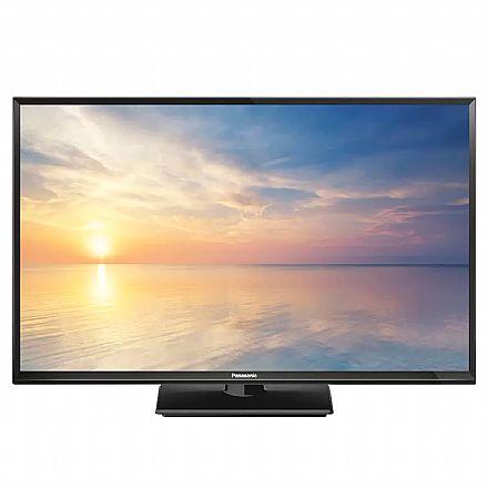 "TV 32"" Panasonic TC-32F400 LED - HD - Função Media Player USB - HDMI"