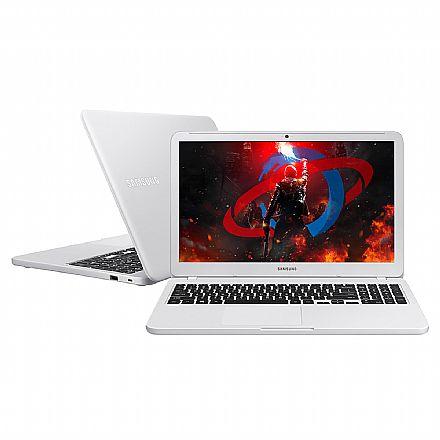 """Notebook Samsung Expert X40 - Tela 15.6"""", Intel i5 8250U, 8GB, HD 1TB, GeForce MX110 2GB, Windows 10 - Branco Ônix - NP350XAA-XD2BR"""