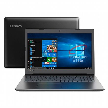 "Notebook Lenovo Ideapad B330 - Tela 15.6"", Intel i3 7020U, 4GB, HD 500GB, Windows 10 Pro - 81M10000BR"