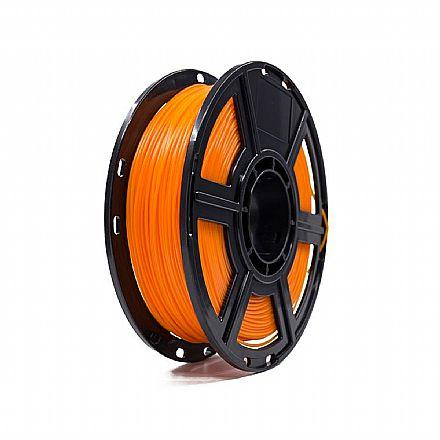 Filamento para Impressora 3D FFF - PLA Termocrômico - Amarelo para Laranja - 0,5Kg - 1,75mm - Flashforge