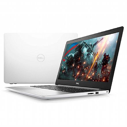 "Notebook Dell Inspiron i15-5570-M31B - Tela 15.6"" Full HD, Intel i7 8550U, 8GB, SSD 240GB, Video Radeon 530 4GB, Windows 10 - Branco"