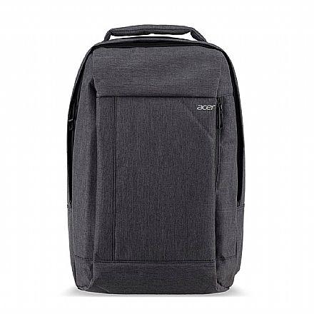 """Mochila Acer Gray Dual Tone - Resistente a água - para Notebooks de até 15.6"""""""
