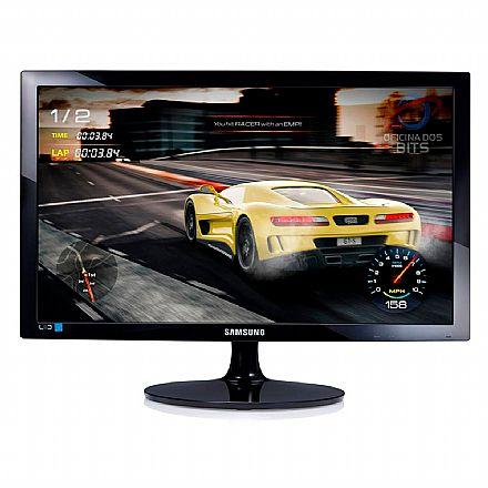 "Monitor 24"" Samsung Gamer LS24D332HSX - Full HD - 1ms - 75Hz - HDMI/VGA"