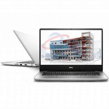 """Notebook Dell Inspiron i14-5480-A20S - Tela 14"""" Infinita Full HD, Intel i7 8565U, 16GB, HD 1TB, GeForce MX150, Windows 10 - Prata"""