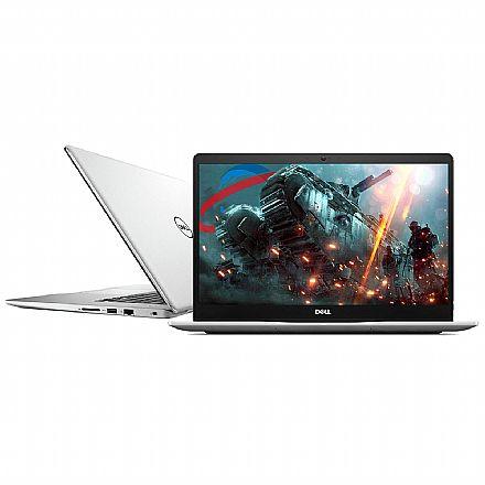 """Notebook Dell Inspiron i15-7580-A20S - Tela 15.6"""" Infinita Full HD, Intel i7 8565U, 16GB, SSD 240GB, GeForce MX150 2GB, Windows 10 - Prata"""
