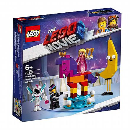 LEGO The Movie - Apresentando a Rainha Watevra WaNabi - 70824