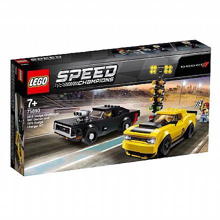 LEGO Speed Champions - Dodge SRT Demon 2018 e Dodge 1970 Charger - 75893