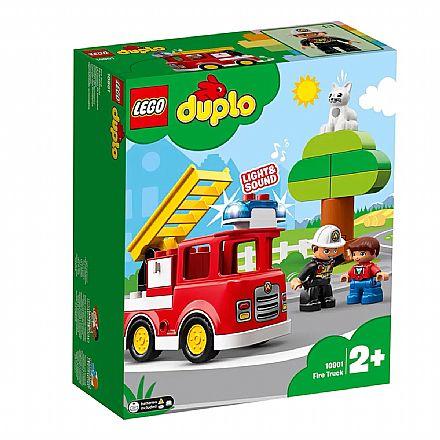 LEGO Duplo - Caminhão de Bombeiros - 10901