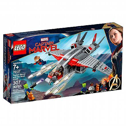 LEGO Marvel Super Heroes - Capitã Marvel e o Ataque do Skrull - 76127
