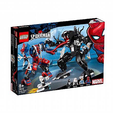 LEGO Marvel Super Heroes - Robô-Aranha vs Venom - 76115