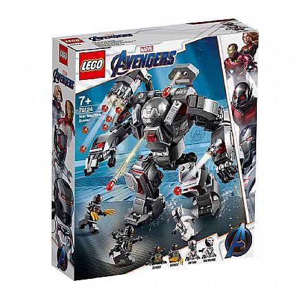 LEGO Marvel Super Heroes - Hulkbuster do Máquina de Combate - 76124