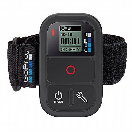 Controle Remoto Smart Remote para GoPro ARMTE-002-LA - Alcance de até 180 metros - A Prova D`Água