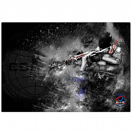Mouse Pad Bits Gamer CSGO Terrorista - 250 x 360mm - Grande
