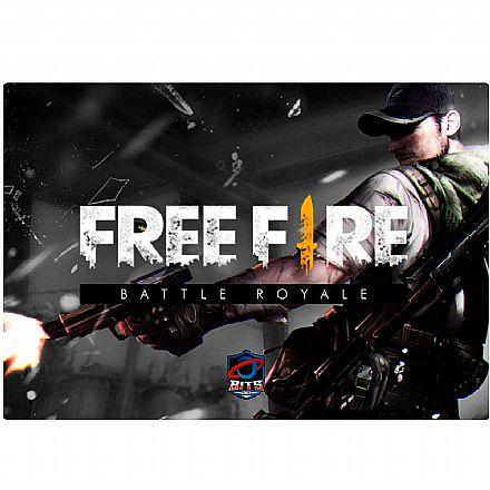 Mousepad Bits Gamer Free Fire - Médio: 360 x 250mm