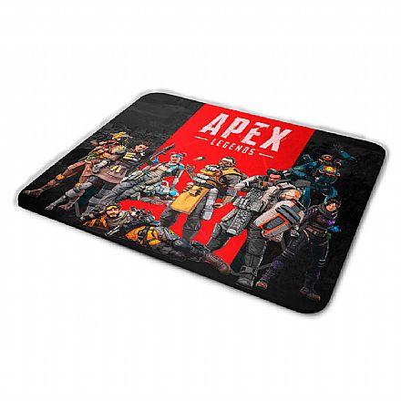 Mousepad Bits Gamer APEX Legends - Médio: 360 x 250mm