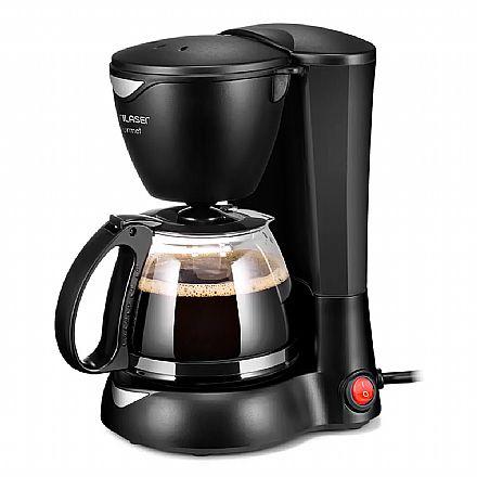 Cafeteira Elétrica Gourmet - 127V - 200W - Prepara até 15 xícaras - Possui Filtro Permanente Lavável - Preta - Multilaser BE01