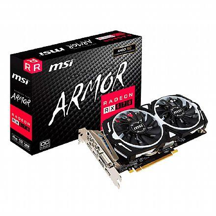 AMD Radeon RX 570 4GB GDDR5 256bits - Armor OC Edition - 912-V341-297