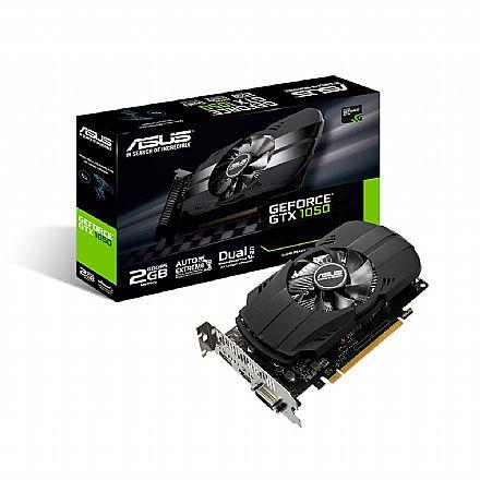 GeForce GTX 1050 2GB GDDR5 128bits - PHOENIX Fan Edition - Asus PH-GTX1050-2G