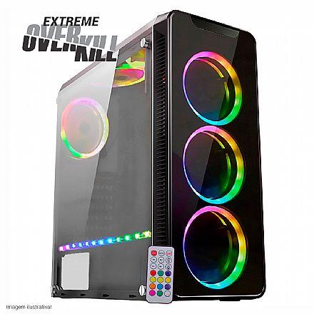 PC Gamer Bits Extreme Overkill - Intel® i9 9900K, 32GB, HD 2TB + SSD 480GB, GeForce RTX 2080 Ti 11GB