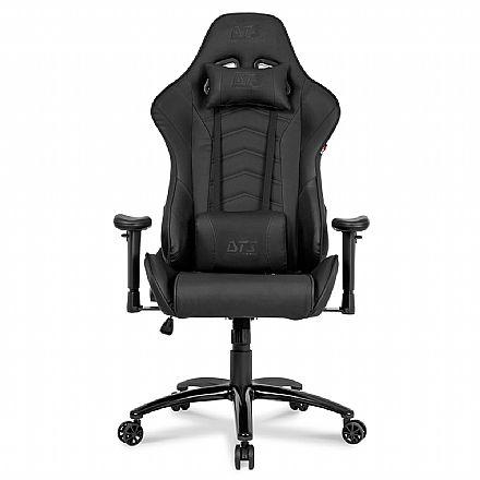 Cadeira Gamer DT3 Sports Elise Black - Encosto Reclinável de 180º - Construção em Aço - 11833-6