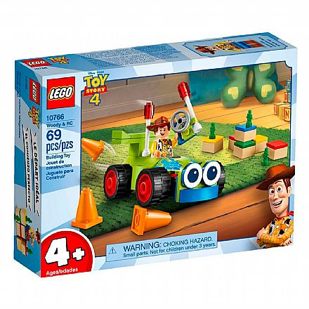LEGO Toy Story 4 - Woody e RC - 10766