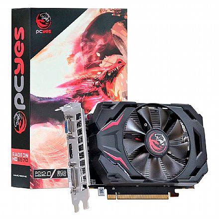 AMD Radeon HD 6570 2GB 128bits - PCYes PW657012802D3