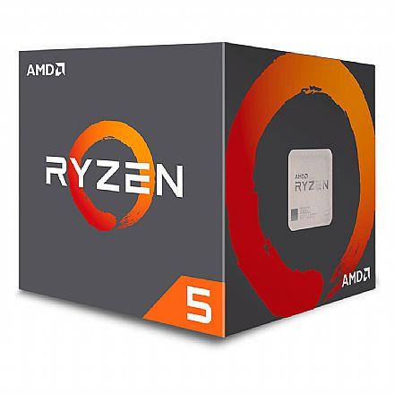 AMD Ryzen 5 2600 Hexa Core - 12 Threads - 3.4GHz (Turbo 3.9GHz) - Cache 19MB - AM4 - TDP 65W - YD2600BBAFBOX - sem Gráfico Integrado