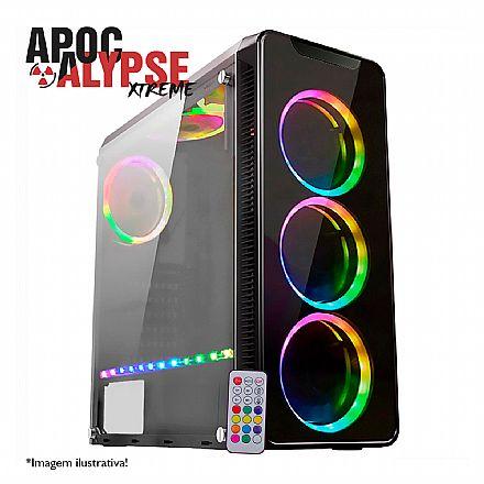 PC Gamer Bits Apocalypse Xtreme - Intel® i7 8700, 32GB, HD 4TB, SSD 480GB, Geforce RTX 2080 Ti 11GB