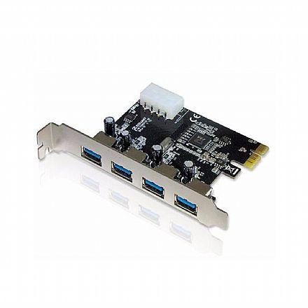 Placa PCI Express com 4 portas USB 3.0 - Empire DP-43