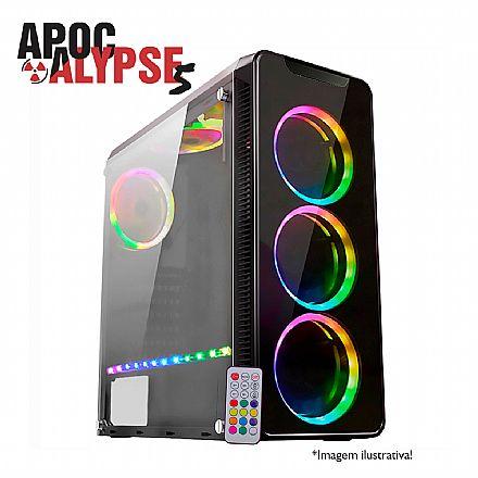PC Gamer Bits Apocalypse 5 - Intel® i7 8700, 8GB, HD 500GB, Geforce GTX 1660 6GB