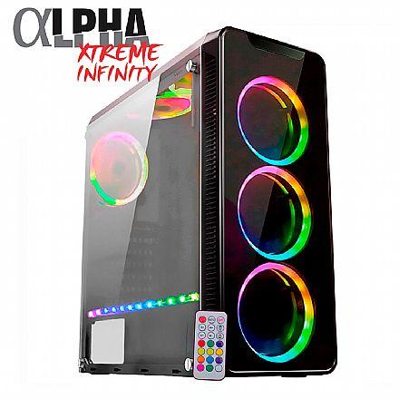 PC Gamer Bits Alpha Xtreme Infinity - Intel® Core i5 9400F, 16GB, HD 1TB, Geforce RTX 2070 8GB