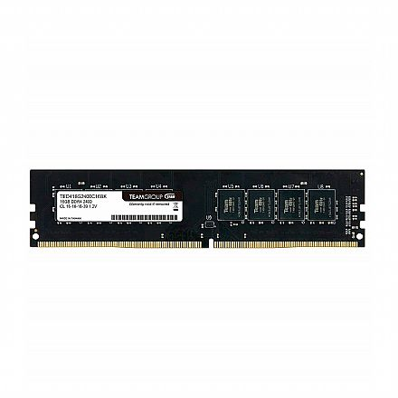 Memória 16GB DDR4 2400Mhz Elite Team Group - 1.2V - CL16 - TED416G2400C1601