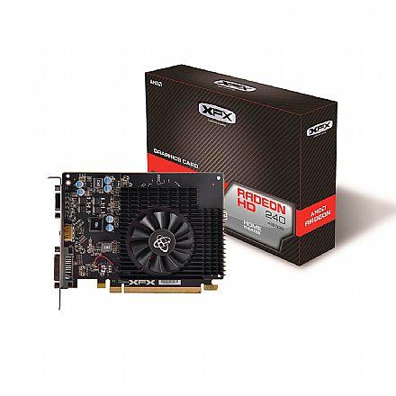 AMD Radeon R7 240 4GB GDDR3 128bits - XFX R7-240A-4TS4